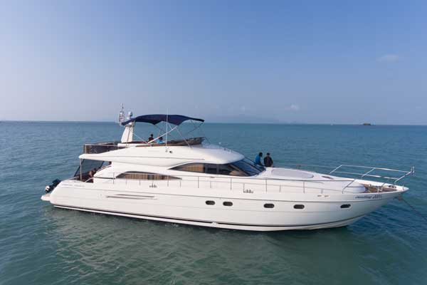 The Princess 65 Exclusive Yacht Charter