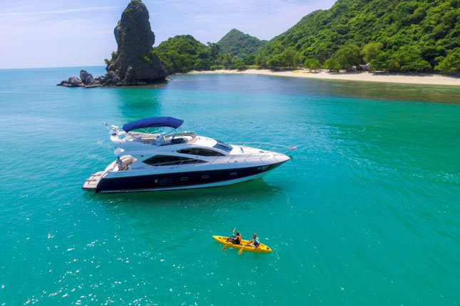 The Princess 64 Exclusive Yacht Charter