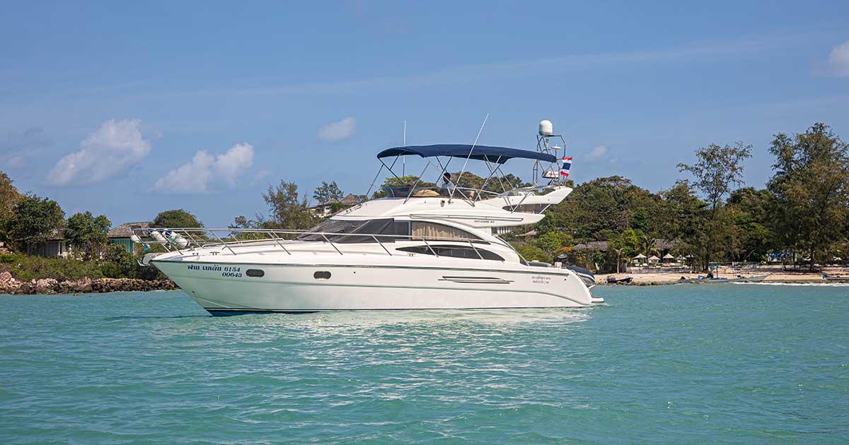 The Princess 64 Yacht