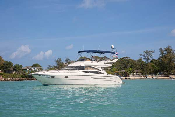 The Princess 42 Exclusive Yacht Charter
